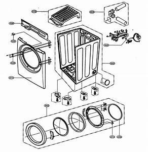 Lg Model Dlg5988w Residential Dryer Genuine Parts