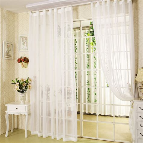 sale white sheer curtains for balcony door bay windows