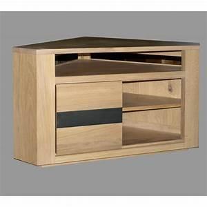 Commode D Angle : meuble tv d 39 angle fly ~ Teatrodelosmanantiales.com Idées de Décoration