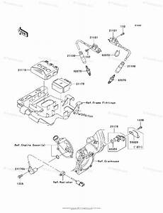 Kawasaki Atv 2007 Oem Parts Diagram For Ignition System