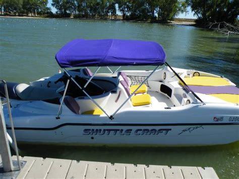 Jet Ski Sport Deck Boat by 1999 Shuttle Craft Sport Deck 4000 Sutherland Boats