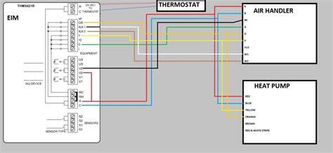Heat Pump New Thermostat Wiring