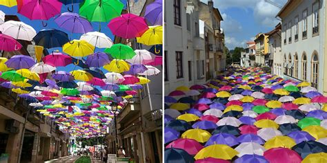 Hundreds of Umbrellas Once Again Float Above The Streets ...