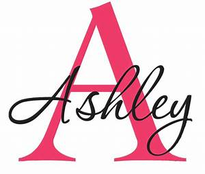 personalized custom name capital letter full name monogram With adhesive monogram letters
