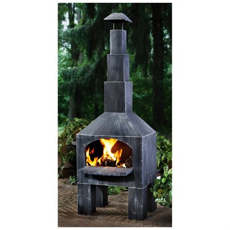 Cheapest Chiminea by Castlecreek Outdoor Cooking Steel Chiminea Cheap