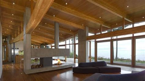 Elma Bay   Signature Blue Sky Architecture Curved Glulam Beams