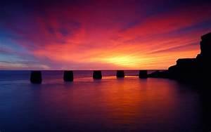 10+ Best Beach Sunset Desktop Wallpapers|FreeCreatives