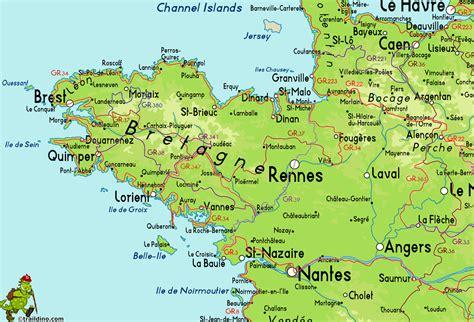 france map bretagne