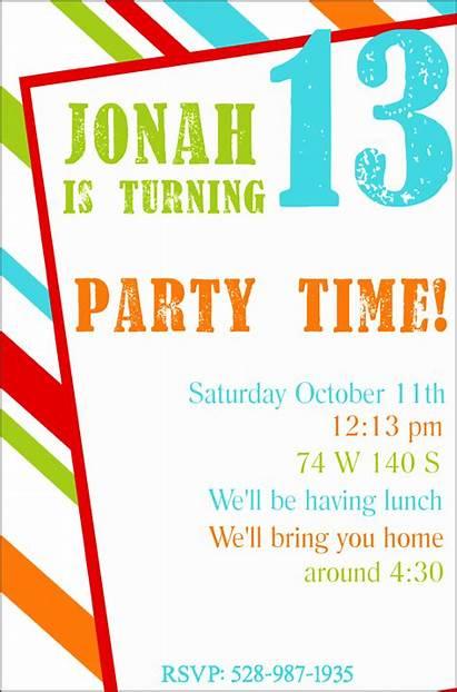 Invitation Birthday Maker Party Sampletemplatess