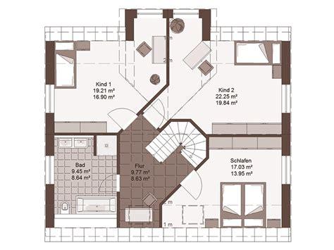 Einfamilienhäuser Grundrisse by Einfamilienhaus Grundriss 220 Ber Blau Babyzimmer Stil