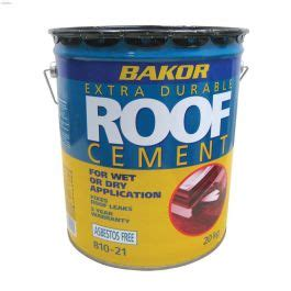 kentca henry bakor  kg black plastic roof cement