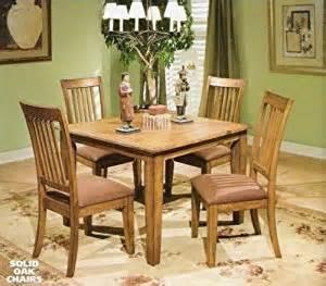 mission style dining room set amazon com yale solid oak mission style dinette set dining room furniture sets