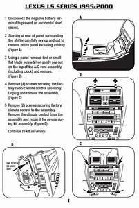 92 Lexus Sc400 Seat Wiring Diagram