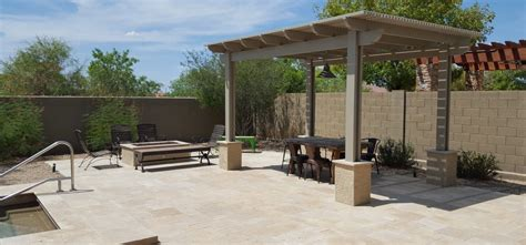 patio structures for shade anthem patio shade structure desert crest llc