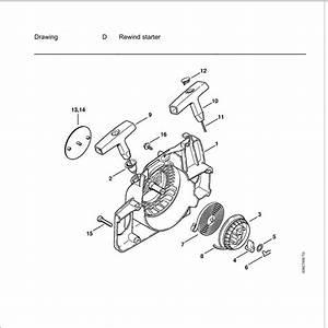 Stihl 021 Chainsaw Parts Diagram