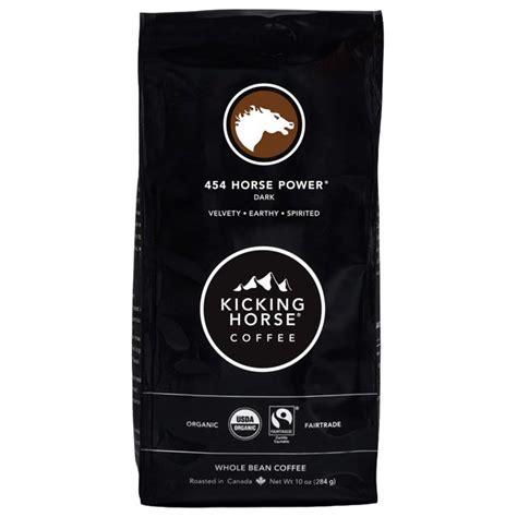 1 2 3 4 5 6 7 8 9 10. Kicking Horse Coffee, 454 Horse Power, Dark Roast, Whole ...