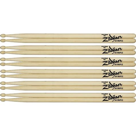 maple drumsticks  pack  wood tip tips play  learn