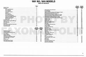 1991 Chevy Astro Van Wiring Diagram Manual Original