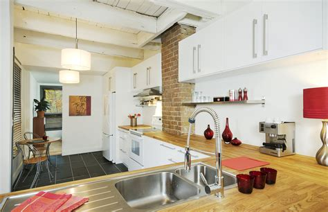 renovation cuisine renovation duplex into single family home homa montreal st germain