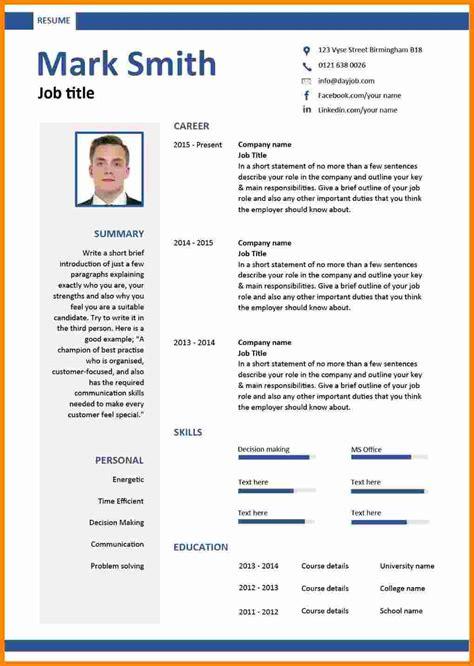 cv sample  job application  theorynpractice