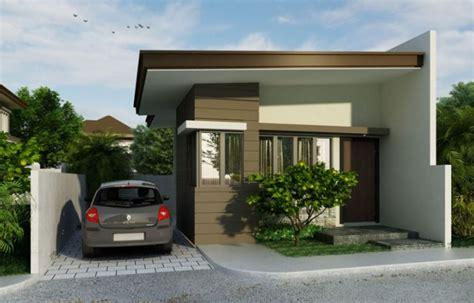 fachadas de casas pequenas