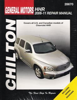 what is the best auto repair manual 2006 dodge dakota club interior lighting 2006 2011 chevrolet hhr chilton s total car care manual
