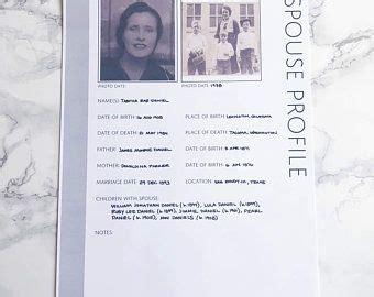 moving  bundle genealogy form printables digital
