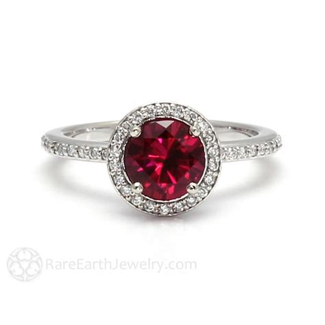 Ruby Engagement Ring Diamond Halo July Birthstone  Rare. Grey Diamond Engagement Rings. Wokka Wokka Wedding Rings. Bling Wedding Rings. Goldan Rings. Styles Wedding Rings. University Rings. Spinel Engagement Rings. Cast Iron Engagement Rings