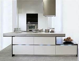 Grifflose kuche mit betonarbeitsplatte for Betonarbeitsplatte küche