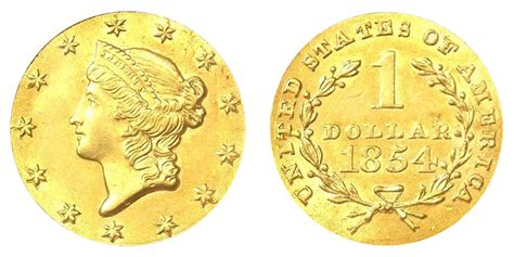 are gold dollars worth anything 1854 liberty head gold dollars type 1 early gold dollar value and prices