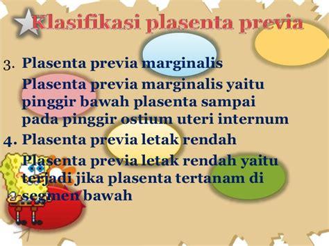 Letak Rahim Wanita Normal Placenta Previa