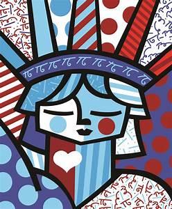 """Romero Britto """"Freedom"""" Romero Britto Pinterest"""