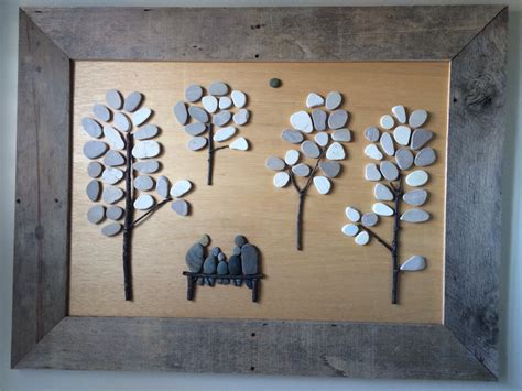 ana white pebble art  pallet wood diy projects