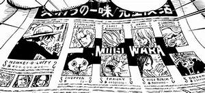 Straw Hat Pirates wanted posters? : OnePiece