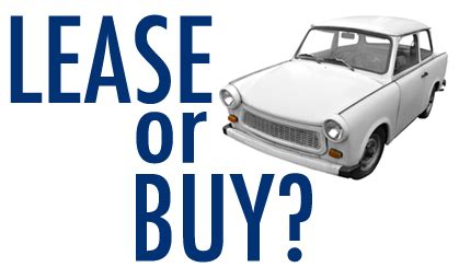 buying a car vs leasing leasing vs buying a car