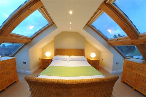 Hip Roof Attic Conversion by Even Low Roof Loft Conversions Can Be Made To Be Airy With