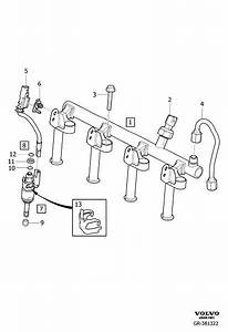 2014 Volvo V60 Wiring Harness  Injectors