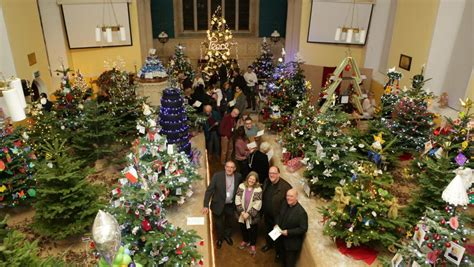 Christmas Tree Festival Told Story Of The Nativity