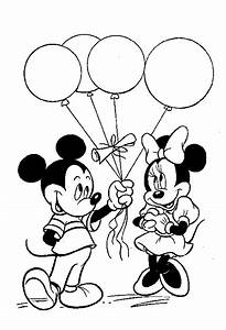 mickey mouse minnie mouse coloring pages
