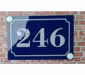 Plaque Numero Maison : plaque numero maison numero de maison plaque plexi ma plaque pro ~ Teatrodelosmanantiales.com Idées de Décoration