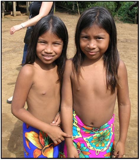 embera tribe girl cumception