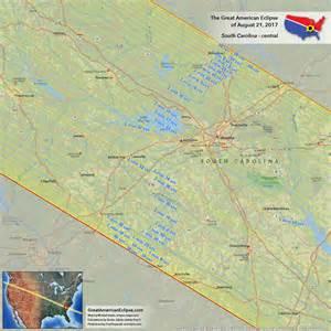 Solar Eclipse 2017 Path South Carolina Map