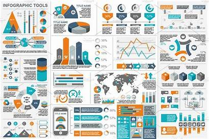 Elements Infographic Illustrator Business Templates Market Presentation