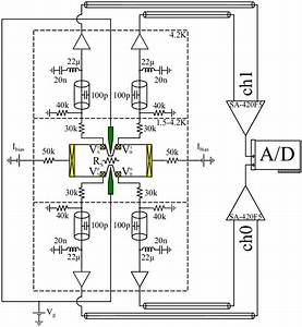 3  Schematics Of The Measurement Circuit With A Sketch Of