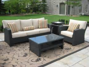 christopher home puerta grey outdoor wicker sofa set patio furniture clearance patio