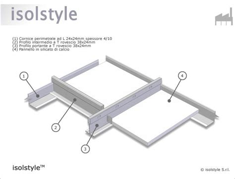 Controsoffitto Rei by Isolstyle 174 Pannello Per Controsoffitto Rei 120 In