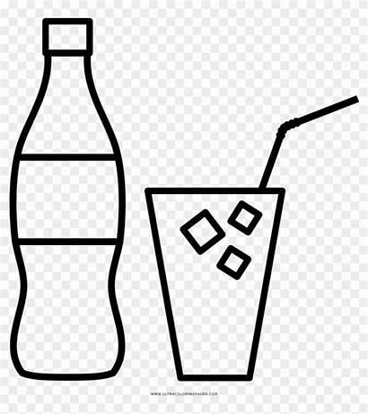 Drinks Coloring Bebidas Imagenes Dibujar Pngfind
