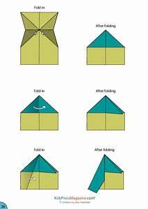 Paper Airplane Instructions U2019 Fuselage Kidspressmagazinecom