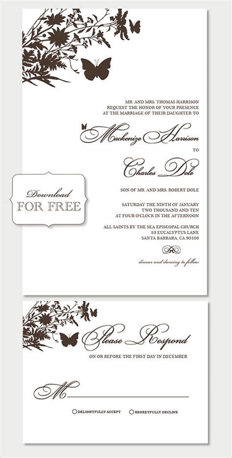 free sles from shine wedding invitations diy projects
