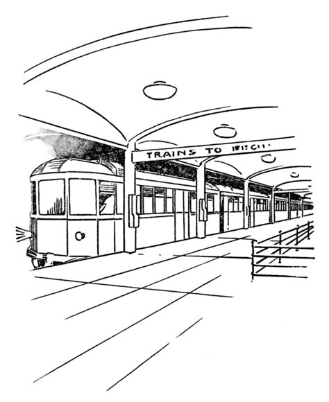 Kleurplaat Nyc by Subway Car Coloring Pages Oh The Places We Ll Go Cars